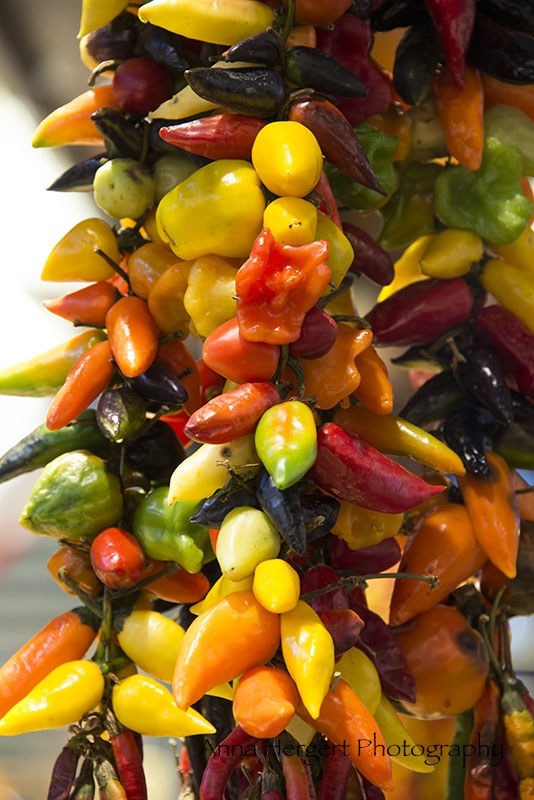 Close Up peppers