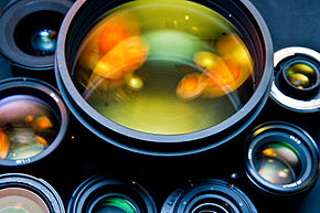 290px-Photographic_lenses_front_view