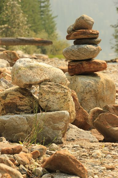 The Rocks, taken at Griffin Lake, BC August 25/15, settings were F/8, 1/160th sec, @92mm, shutter priority mode
