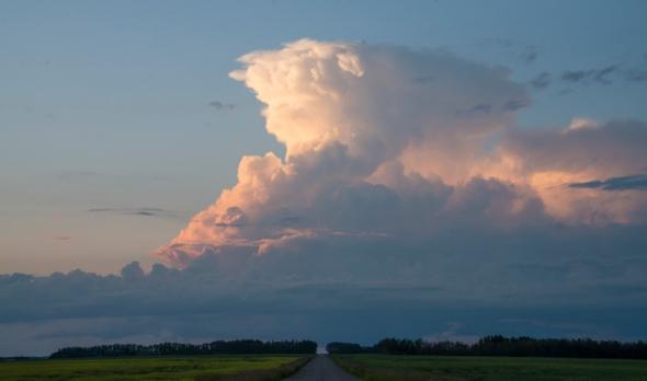 thunder head cloud